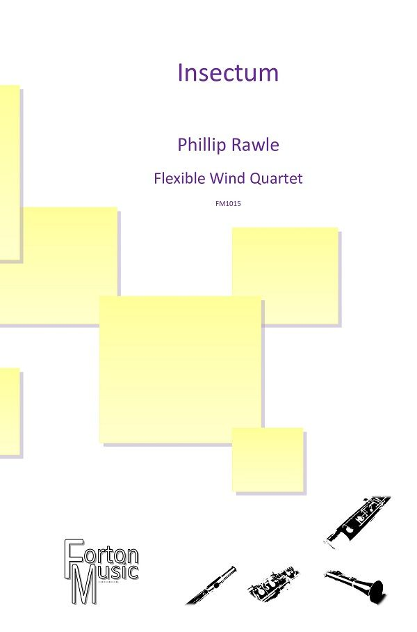 Phil Rawle: Insectum: Woodwind Ensemble: Score and Parts