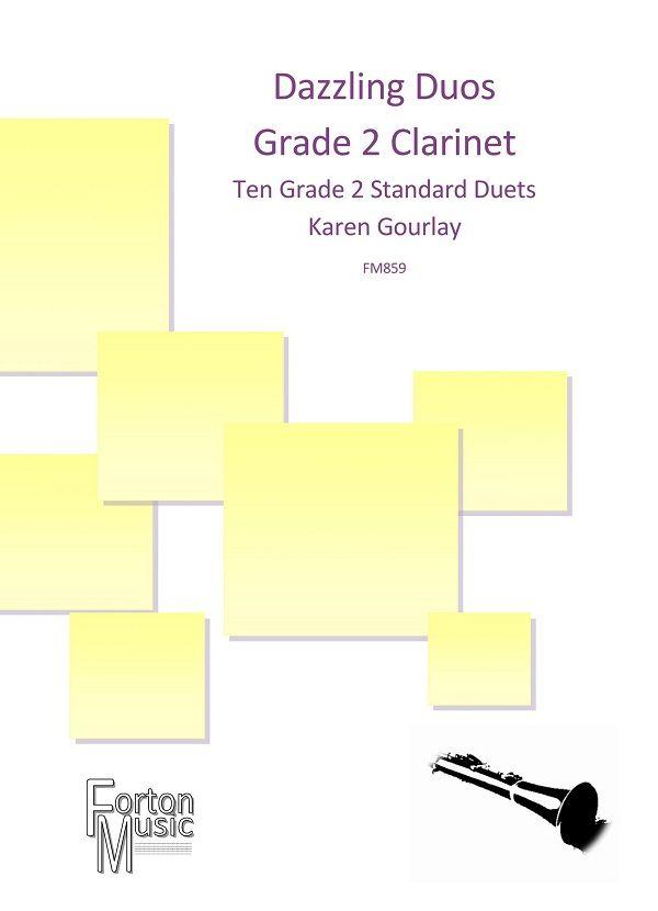 Karen Gourlay: Dazzling Duos Grade 2 Clarinet: Clarinet: Instrumental Album