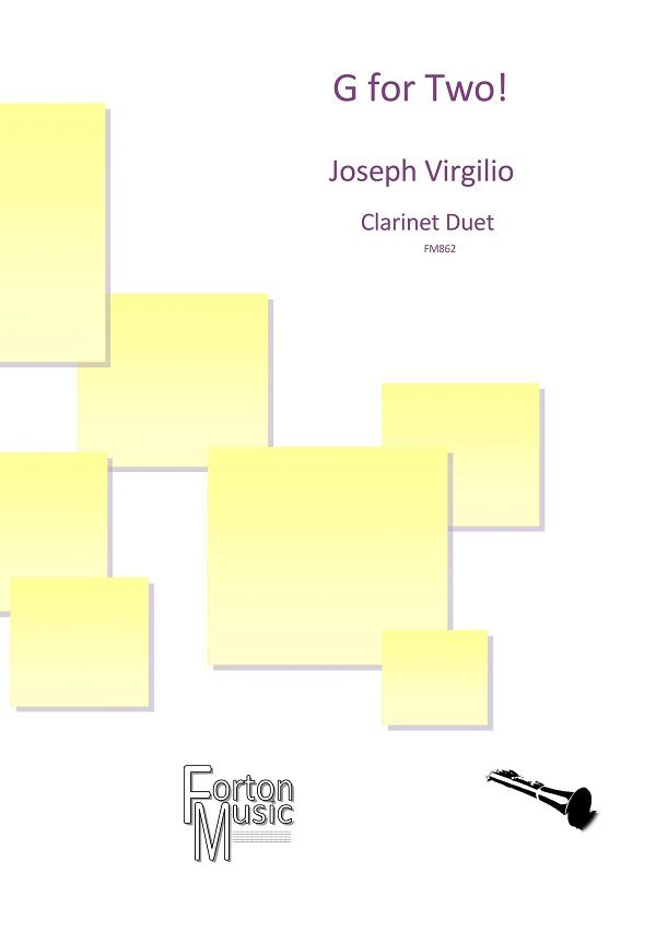 Joe Virgilio: G for Two: Clarinet Duet: Instrumental Work