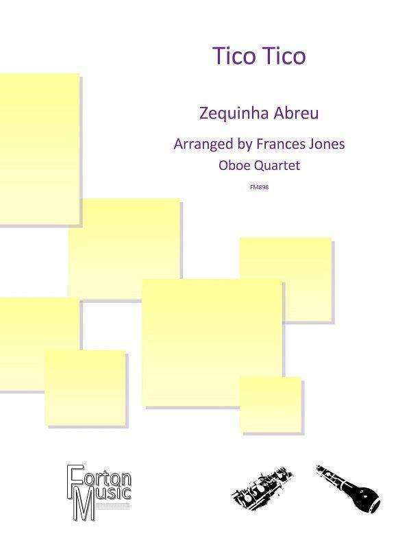 Zequinha Abreu: Tico Tico: Woodwind Ensemble: Score and Parts