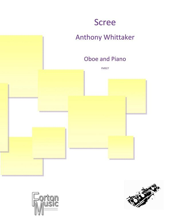 Anthony Whittaker: Scree: Oboe: Instrumental Work