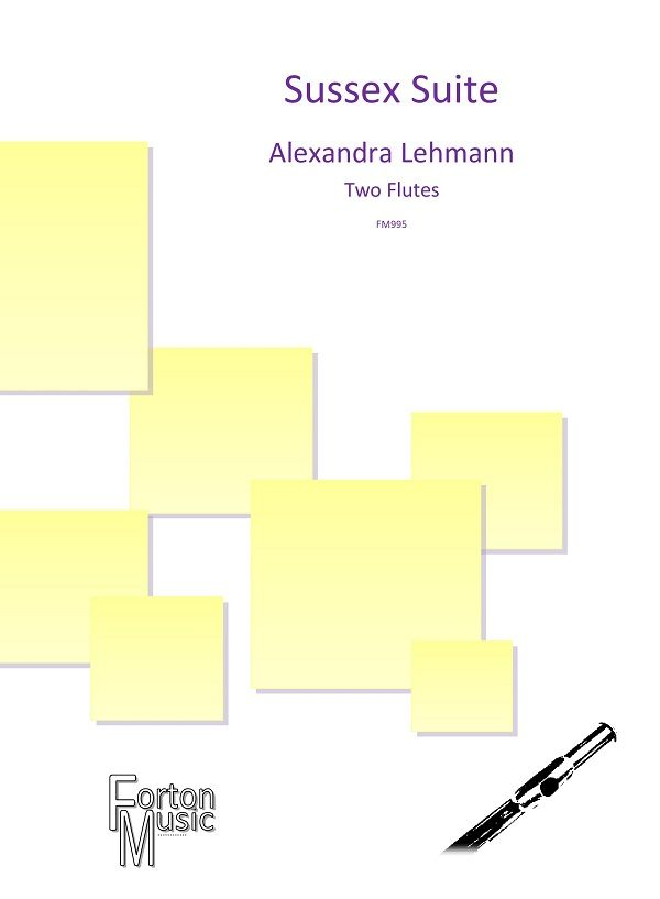 Alexandra Lehmann: Sussex Suite: Flute Duet: Instrumental Album