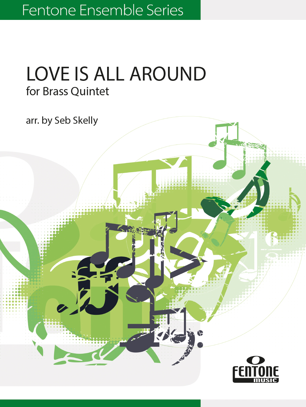 Love is All Around: Brass Ensemble: Score & Parts