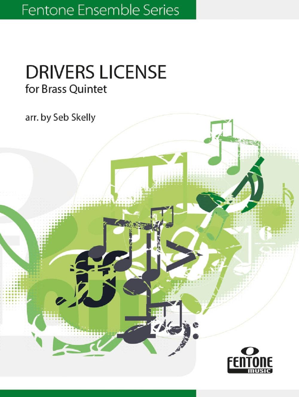 Drivers License: Brass Ensemble: Score and Parts