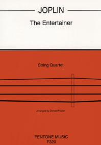 Scott Joplin: The Entertainer: String Quartet: Score & Parts