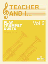 Teacher and I Play Trumpet Duets  Volume 2: Trumpet: Instrumental Work