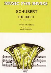 Franz Schubert: The Trout: French Horn: Instrumental Work