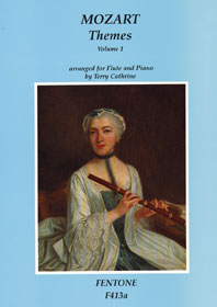 Wolfgang Amadeus Mozart: Mozart Themes  Volume 1: Flute: Instrumental Work