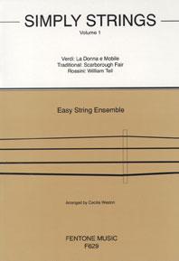 Simply Strings Volume 1: String Ensemble: Score & Parts