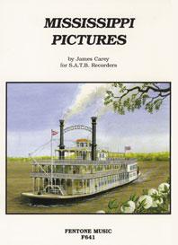 James Duncan Carey: Mississippi Pictures: Recorder Ensemble: Score & Parts