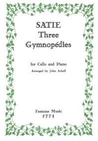 Erik Satie: Three Gymnopedies: Cello: Instrumental Work