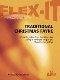 Traditional: Traditional Christmas Fayre: Wind Ensemble: Score & Parts