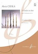 Alexis Ciesla: 15 Études en Duo: Clarinet Duet: Instrumental Album