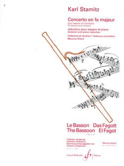 Carl Stamitz: Concerto En Fa Majeur: Bassoon: Score