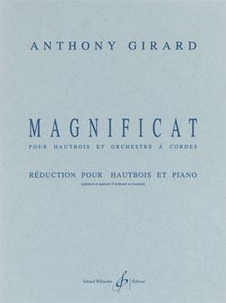 Anthony Girard: Magnificat: Oboe: Score