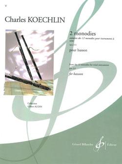 Charles Koechlin: 2 Monodies Pour Basson: Bassoon: Score