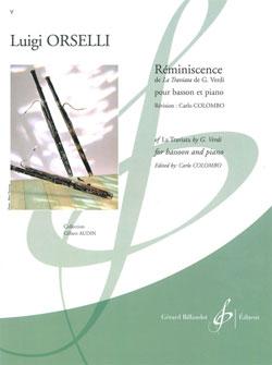 Luigi Orselli: Reminiscence De La Traviata De G. Verdi: Bassoon: Score