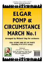 Edward Elgar: Pomp And Circumstance March No.1 - Score/Parts: Orchestra: Score