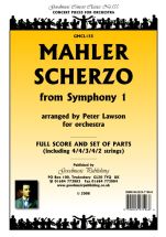 Gustav Mahler: Scherzo From Symphony No.1: Orchestra: Score and Parts