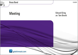 Edvard Grieg: Meeting: Brass Band: Score & Parts