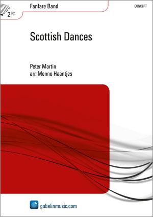 Peter Martin: Scottish Dances: Fanfare Band: Score
