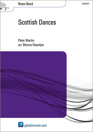 Peter Martin: Scottish Dances: Brass Band: Score