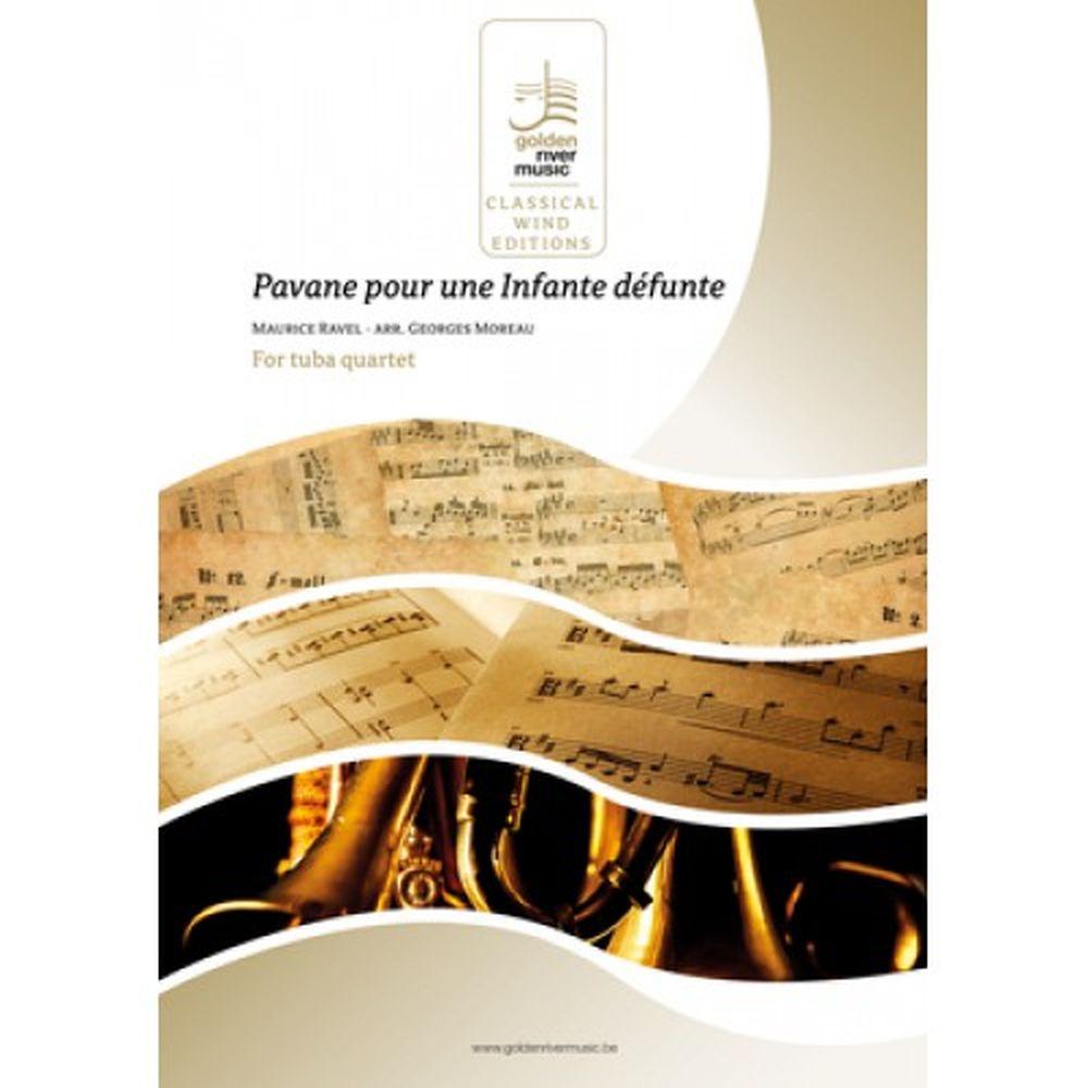 Maurice Ravel: Pavana Pour Une Infante Defunte: Score and Parts