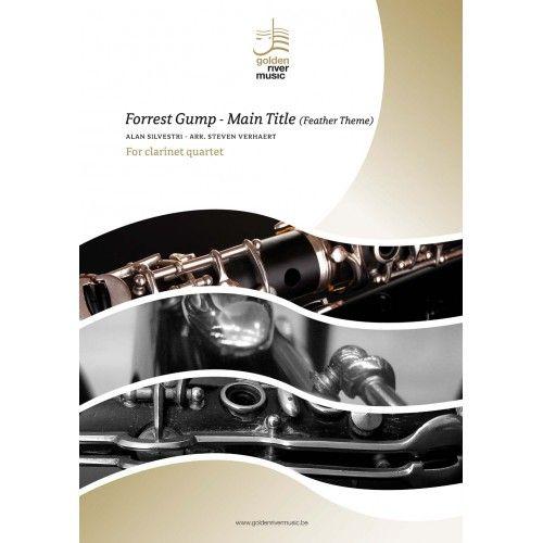 Alan Silvestri: Forrest Gump - Main Title: Clarinet Ensemble: Score and Parts