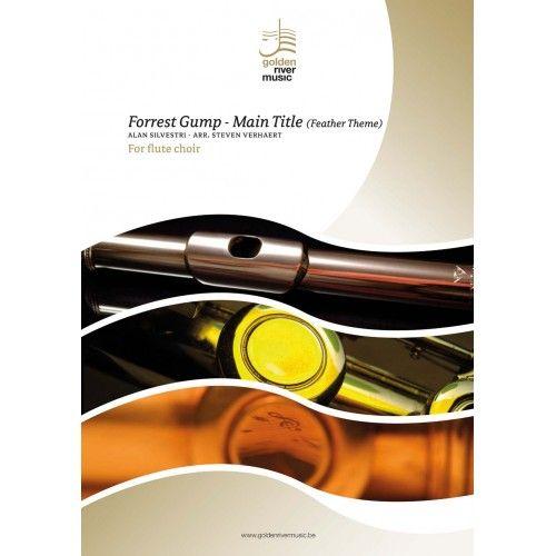 Alan Silvestri: Forrest Gump - Main Title: Flute Ensemble: Score and Parts