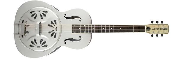 G9221 Bobtail Electro Acoustic Resonator Guitar: Acoustic Guitar