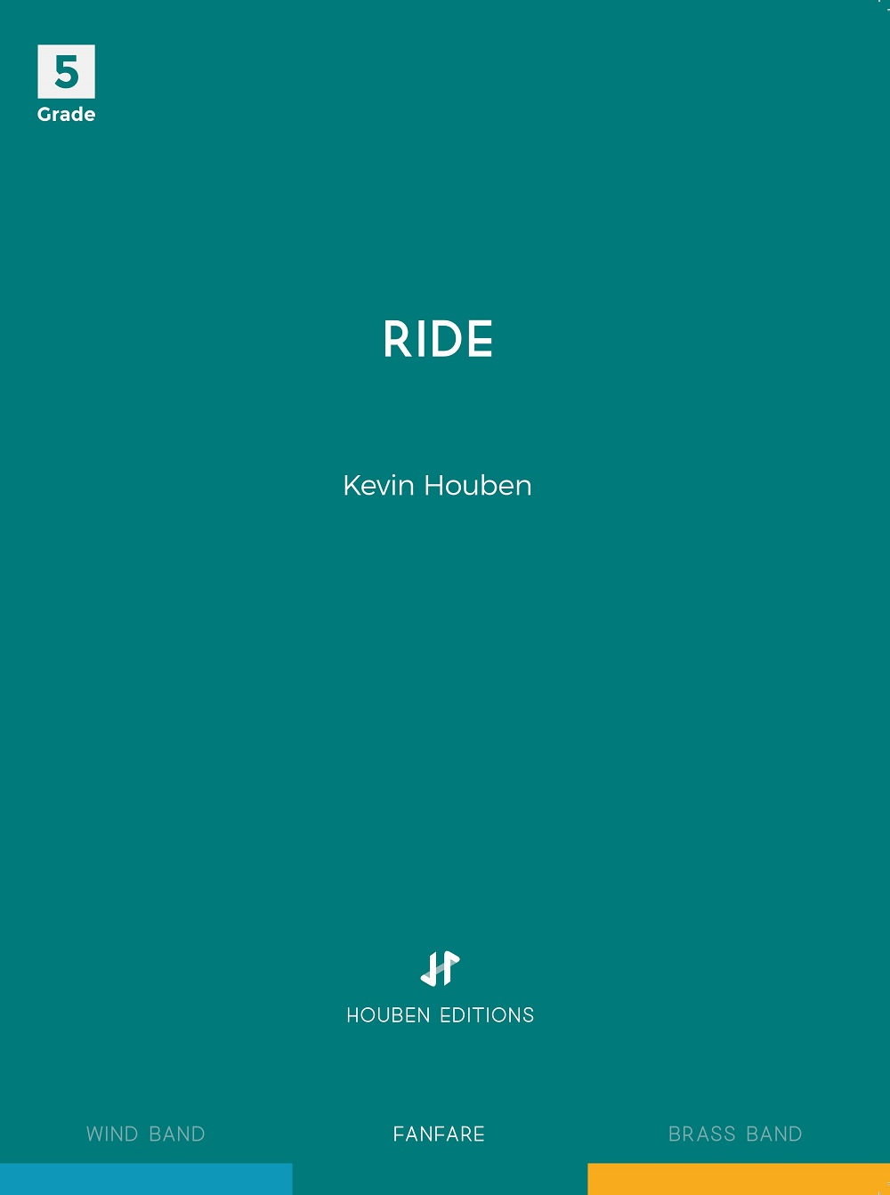 Kevin Houben: Ride: Fanfare: Score & Parts