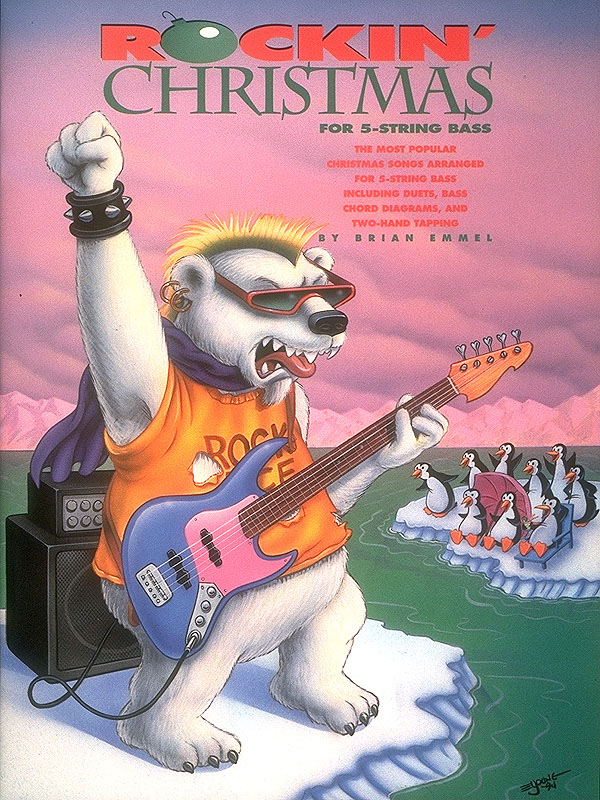 Brian Emmel: Rockin' Christmas For 5-String Bass: Bass Guitar Solo: Instrumental