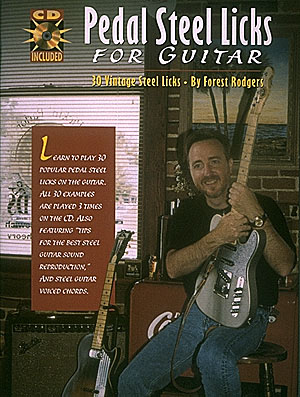 Pedal Steel Licks for Guitar: Guitar Solo: Instrumental Album