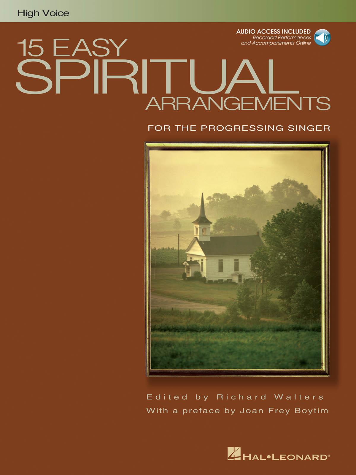 15 Easy Spiritual Arrangements: Vocal and Piano: Vocal Album