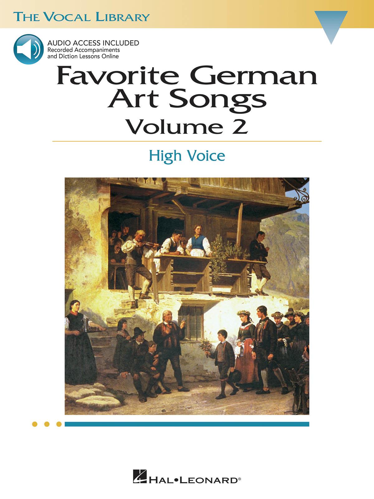 Josquin des Prés: Favorite German Art Songs - Volume 2: Vocal Solo: Vocal