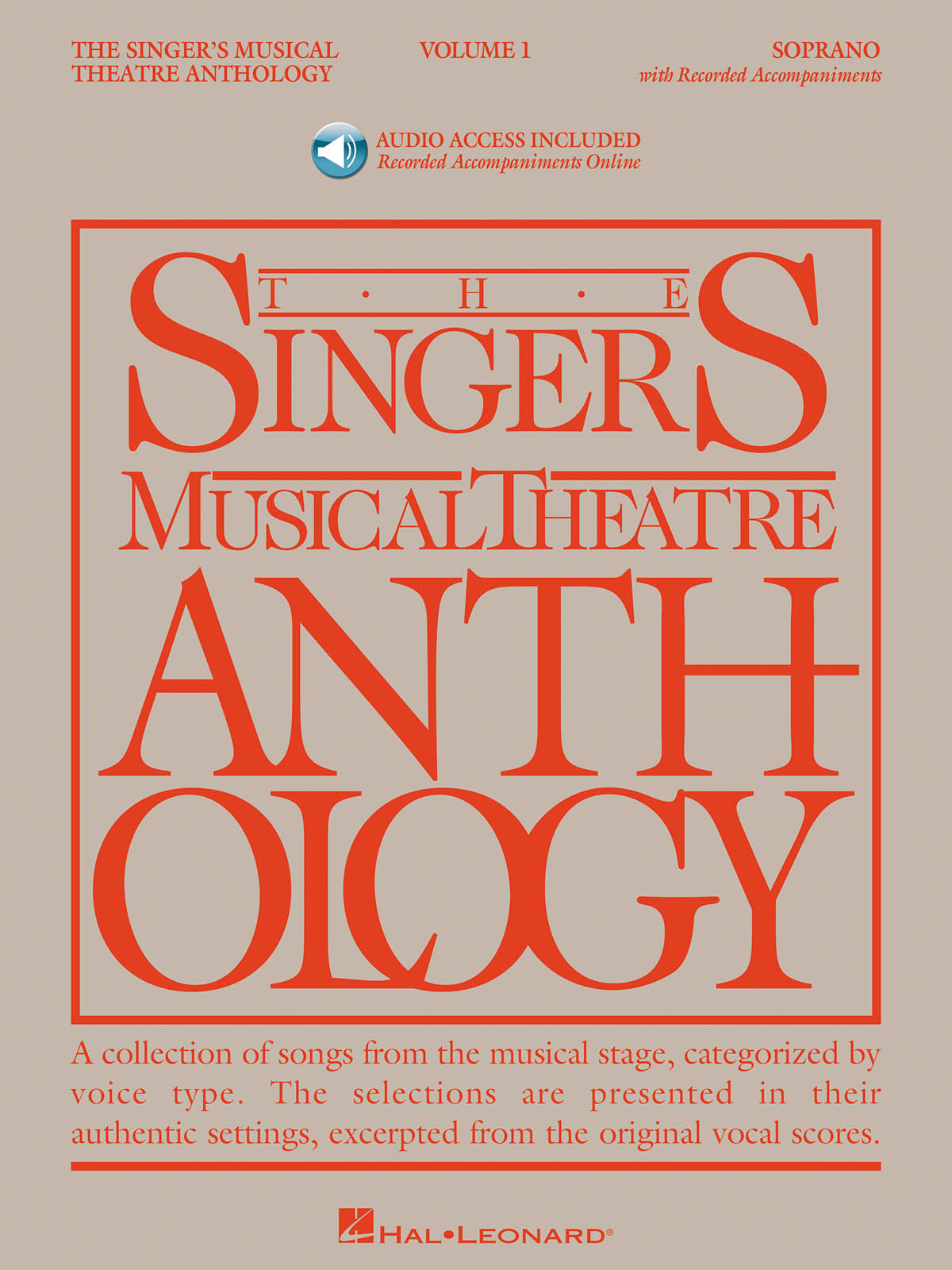 Singer's Musical Theatre Anthology - Volume 1: Vocal Solo: Vocal Album