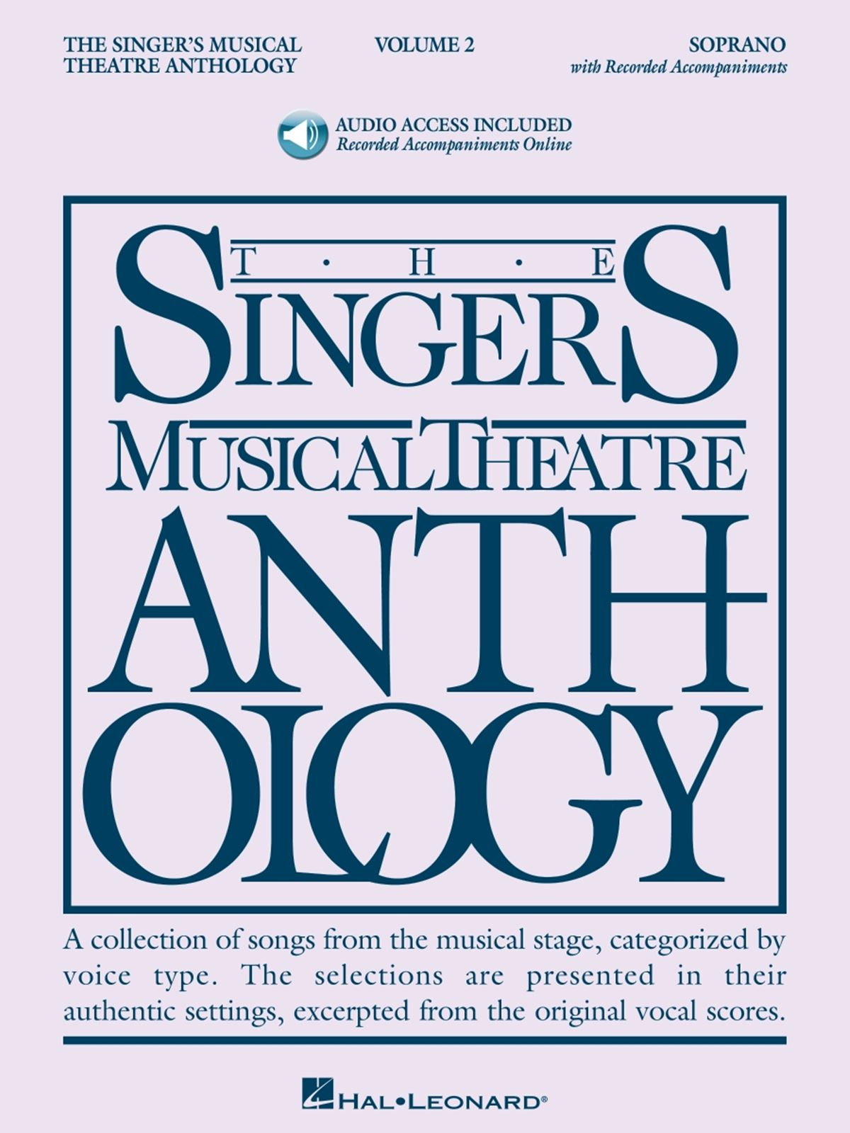 Singer's Musical Theatre Anthology - Volume 2: Vocal Solo: Vocal Album