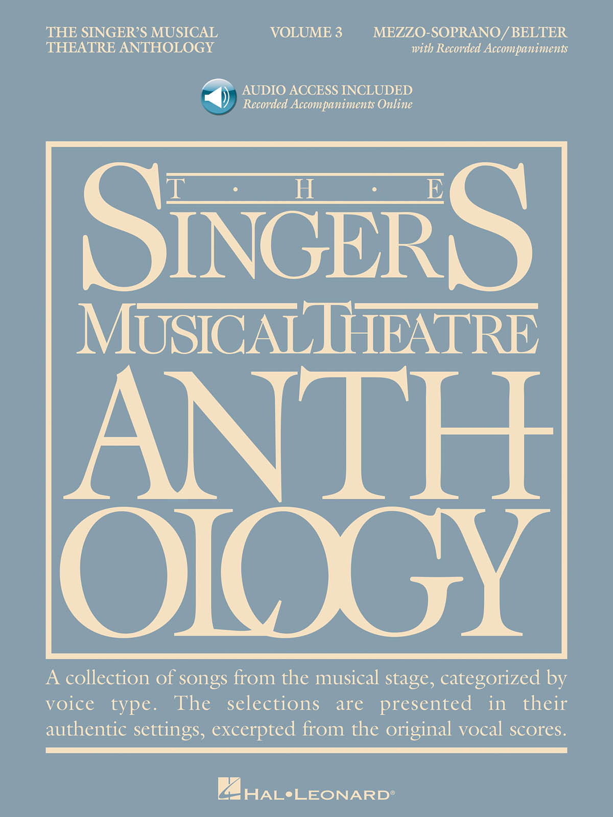 Singer's Musical Theatre Anthology - Volume 3: Vocal Solo: Vocal Album