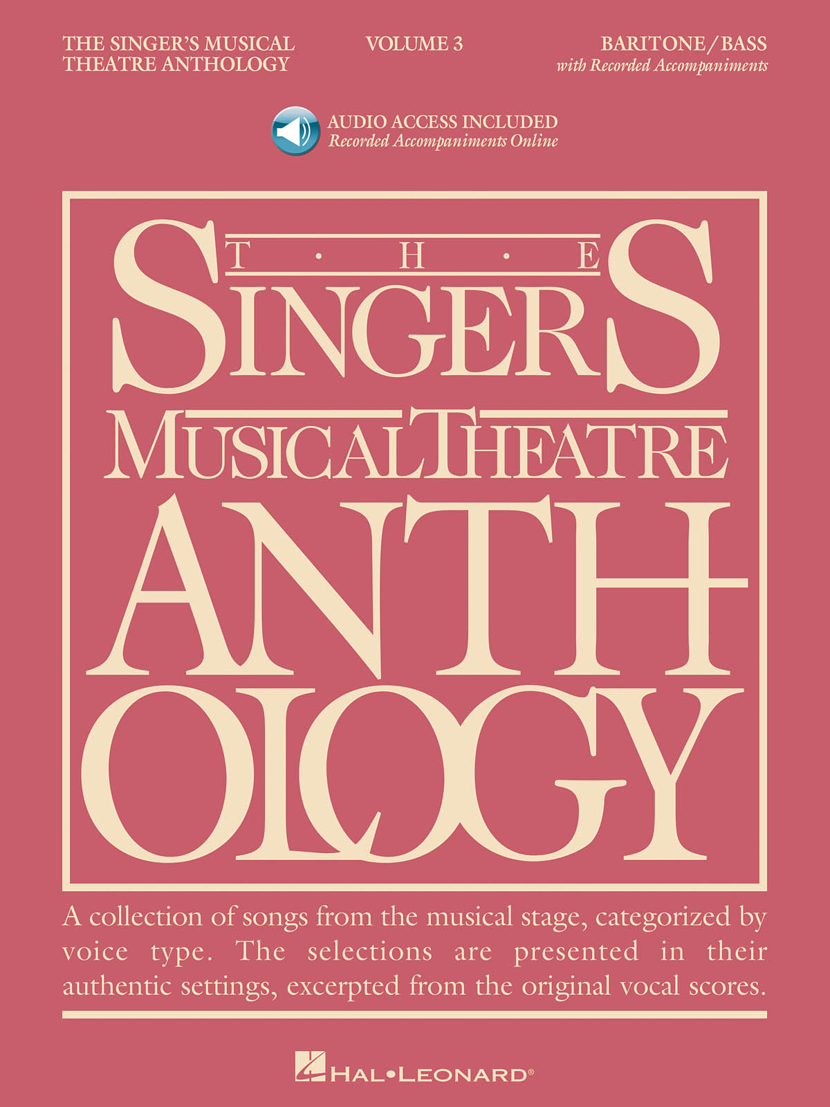 Singer's Musical Theatre Anthology - Volume 3: Vocal Solo: Backing Tracks