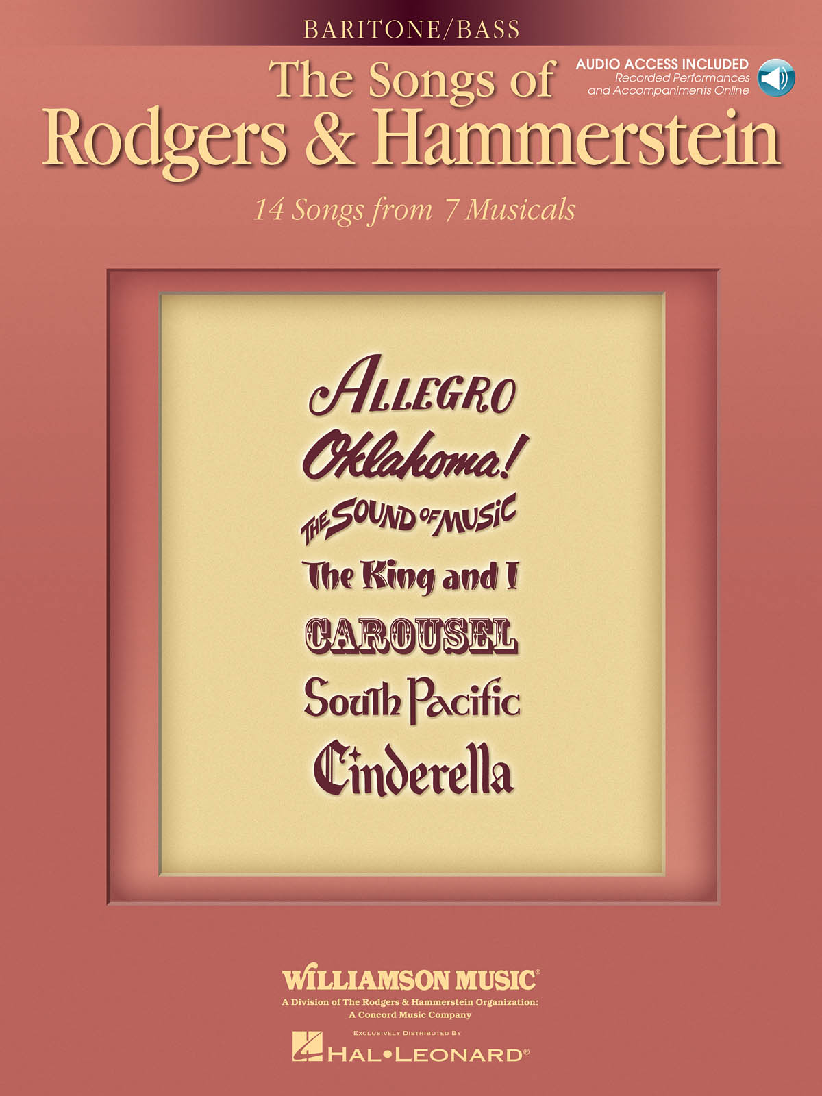 Oscar Hammerstein II Richard Rodgers: The Songs Of Rodgers And Hammerstein: