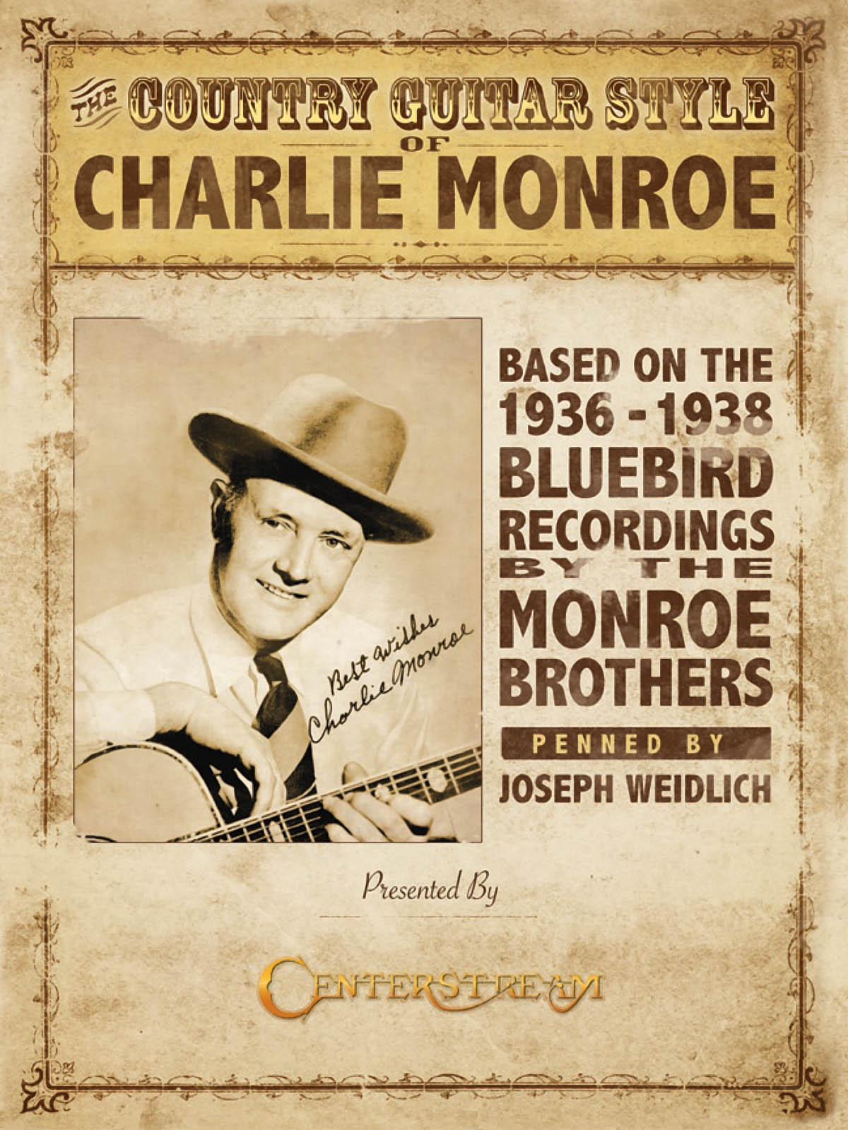 Charlie Monroe: The Country Guitar Style Of Charlie Monroe: Guitar Solo: