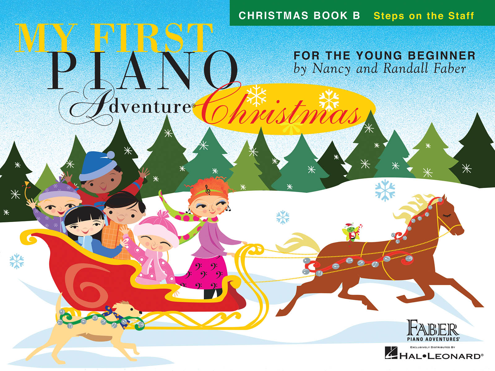 Nancy Faber Randall Faber: My First Piano Adventure÷ Christmas - Book B: Piano: