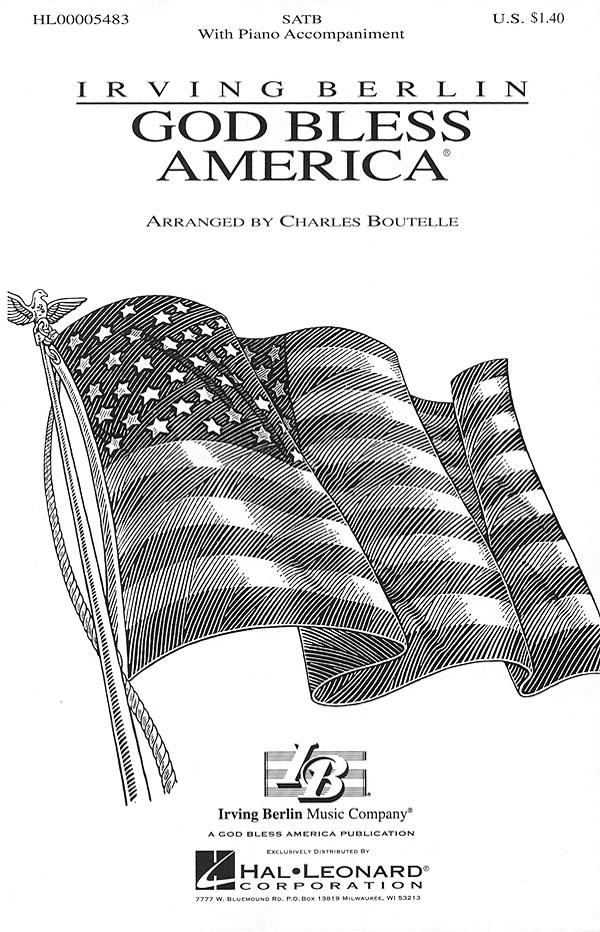 Irving Berlin: God Bless America®: SATB: Vocal Score