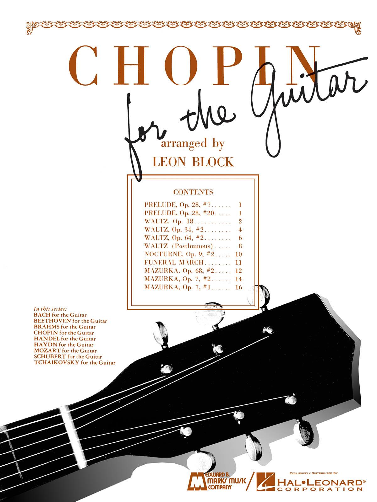 Frédéric Chopin: Chopin for Guitar: Guitar Solo: Instrumental Album