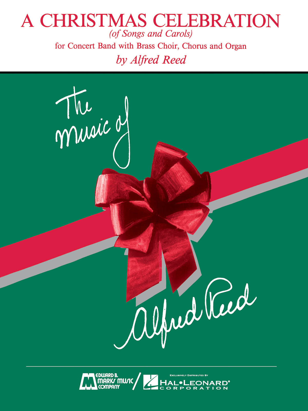 Alfred Reed: Christmas Celebration  A: Concert Band: Score & Parts