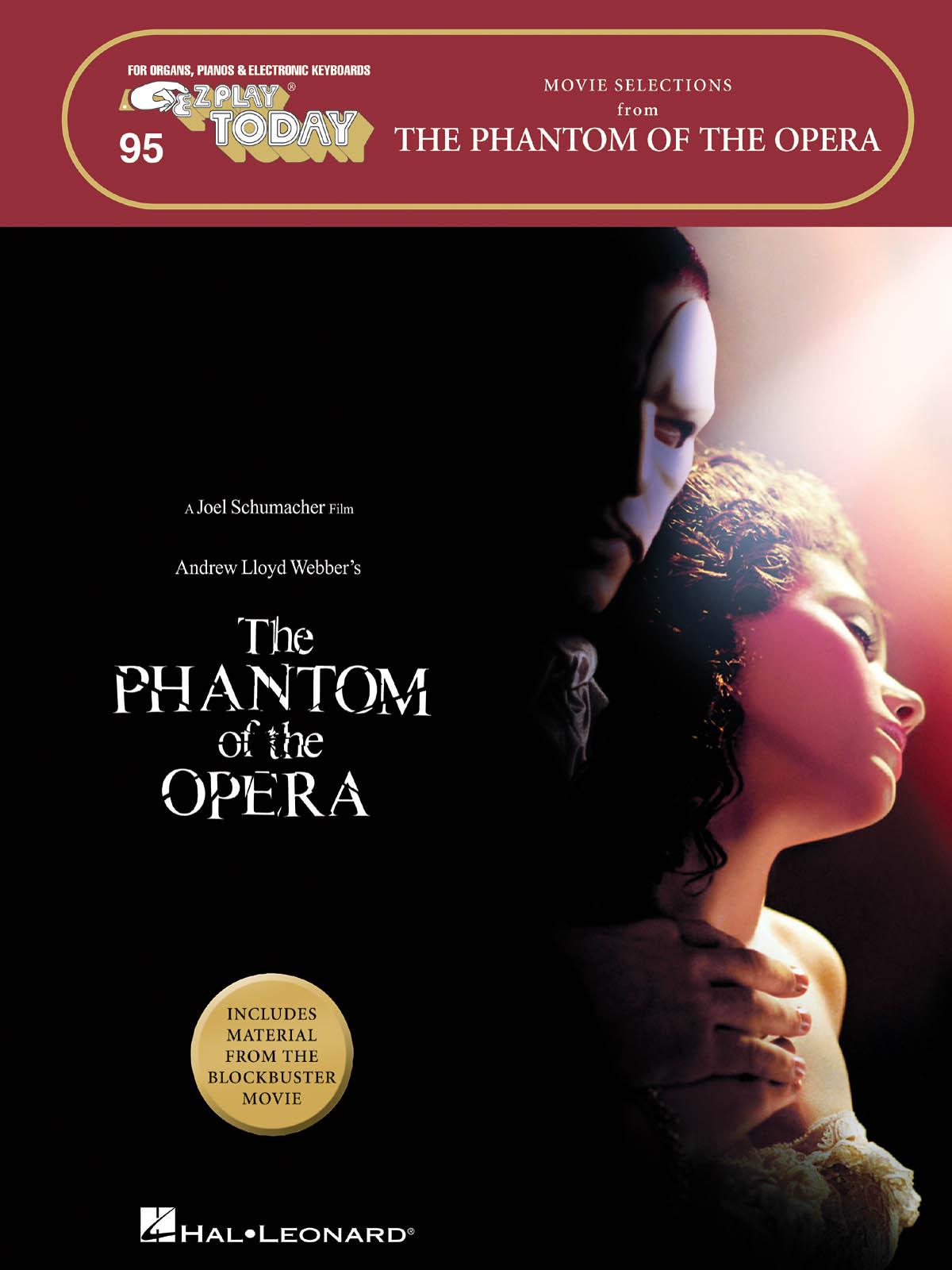 Andrew Lloyd Webber: The Phantom of the Opera - Movie Selections: Melody  Lyrics