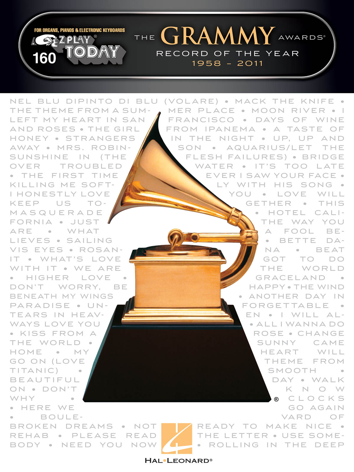 The Grammy Awards Record of the Year 1958-2011: Piano: Mixed Songbook