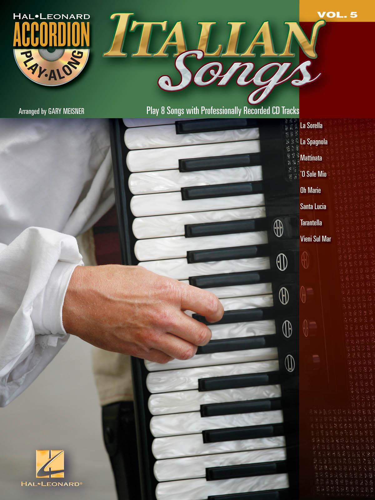 Italian Songs: Accordion