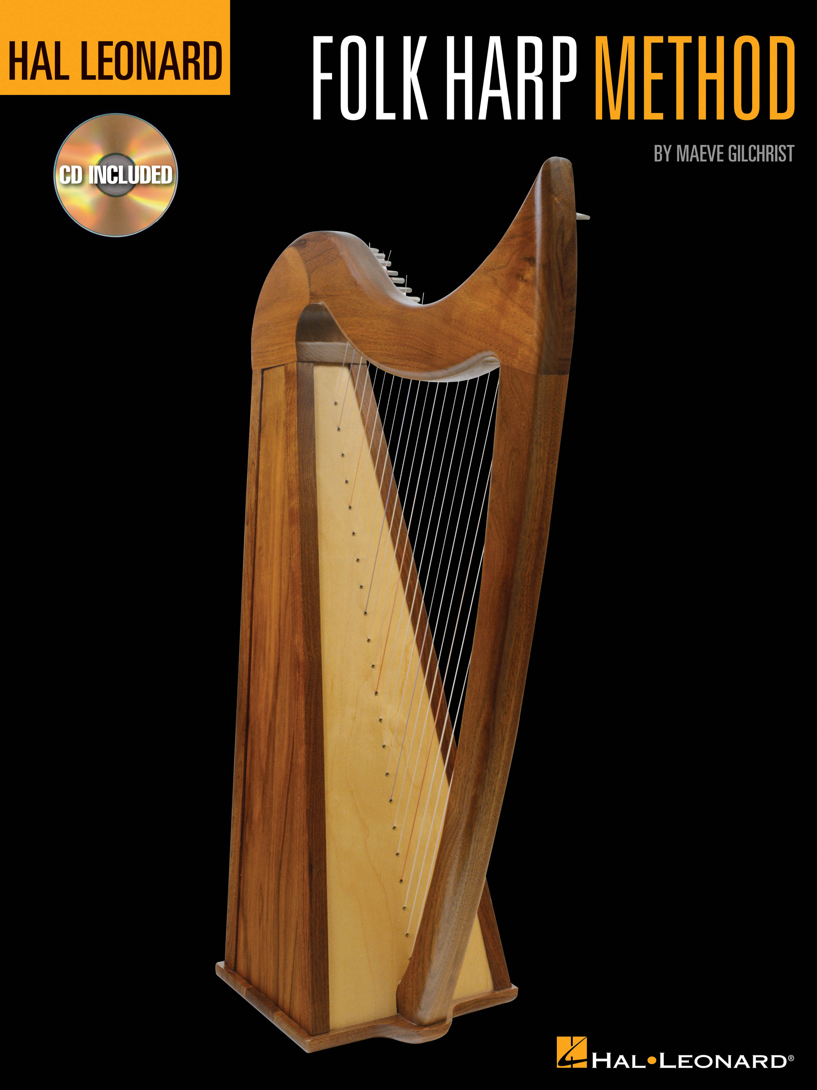Hal Leonard Folk Harp Method: Harp Solo: Instrumental Tutor