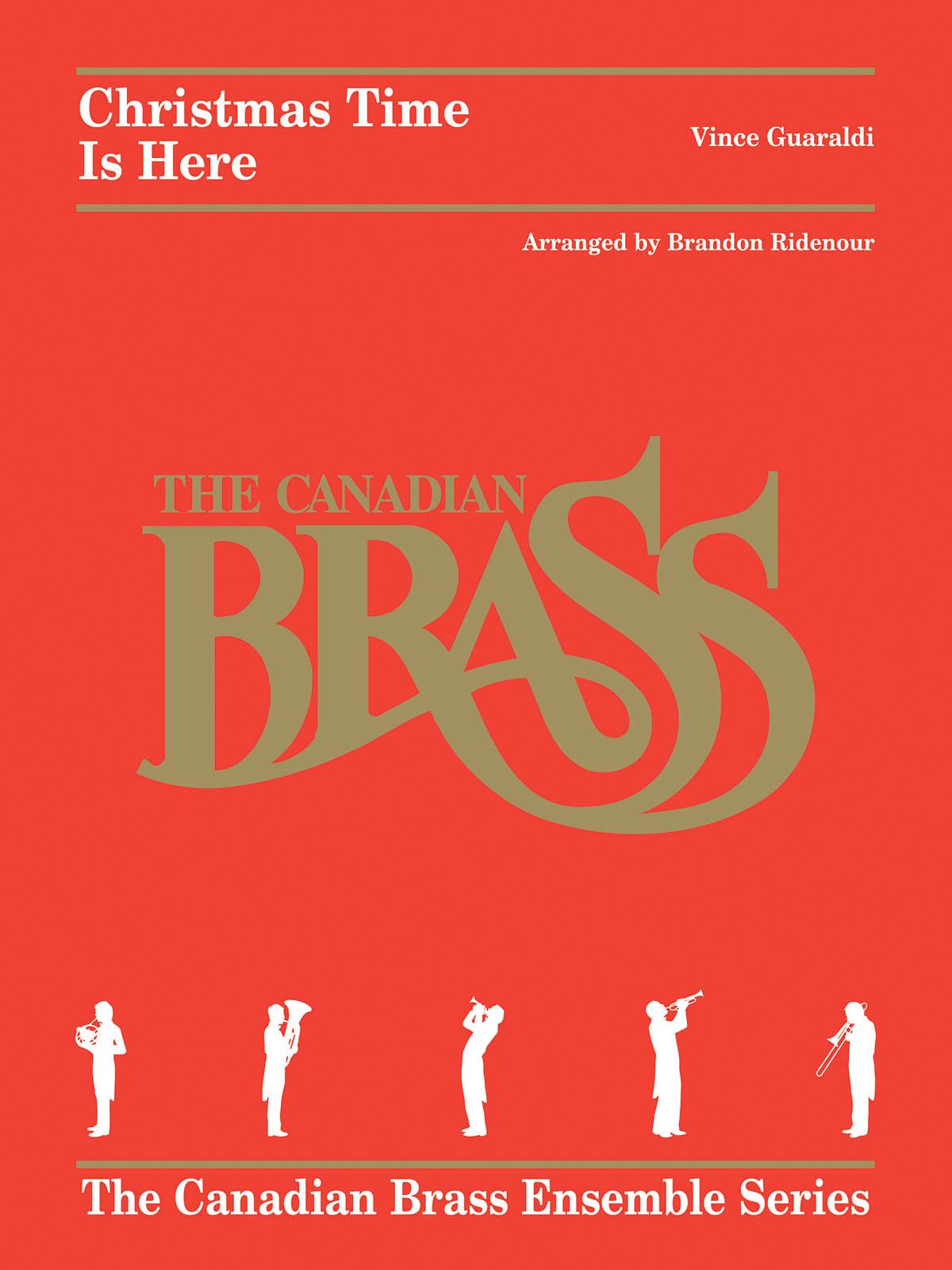 Vince Guaraldi: Christmas Time Is Here: Brass Ensemble: Score & Parts